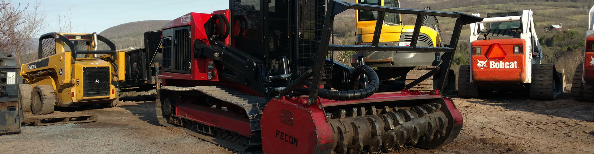 Used Fecon Forestry Equipment